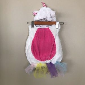 UNICORN Baby Costume with hat & removable wings
